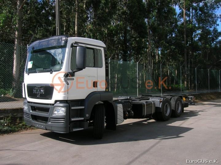 Шасси грузового автомобиля MAN