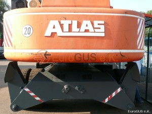 Грейферный погрузчик Atlas