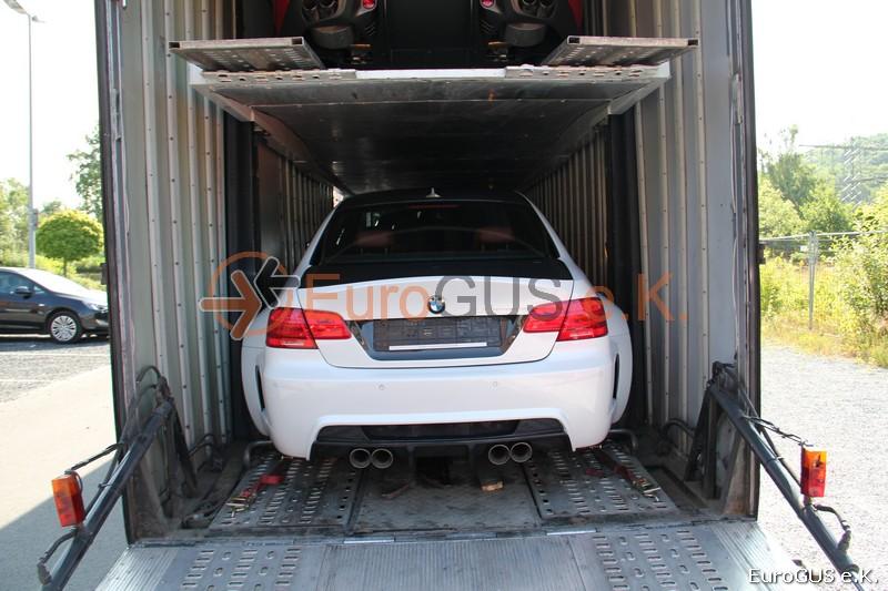 Перевозка автовозом, крытый автовоз, перегон из Германии, Россия