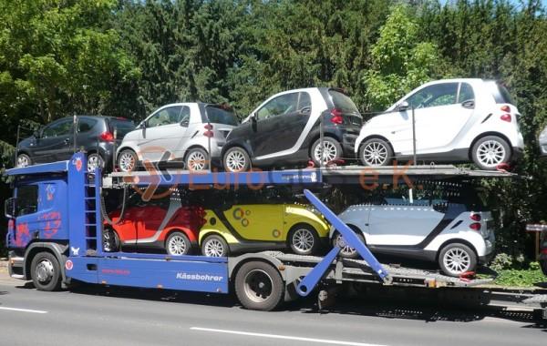Открытый автовоз  из   Германии в Россию