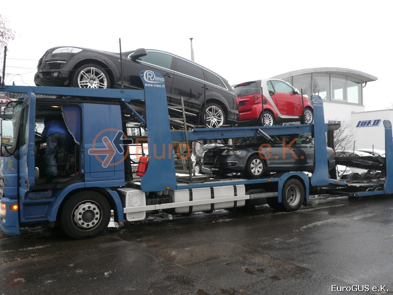 автовоз из Германии
