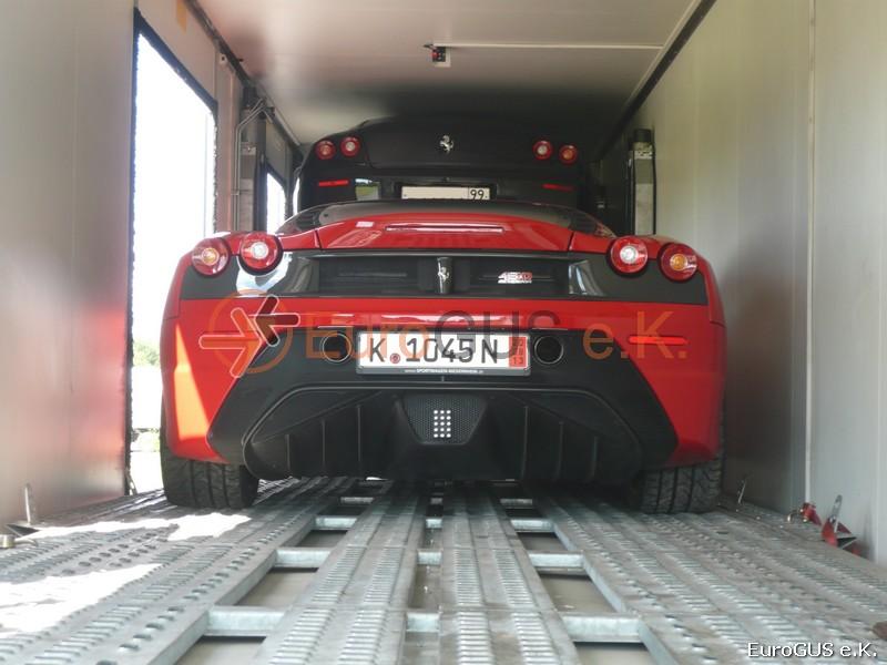 Доставка автомобилей из Германии крытым автовозом