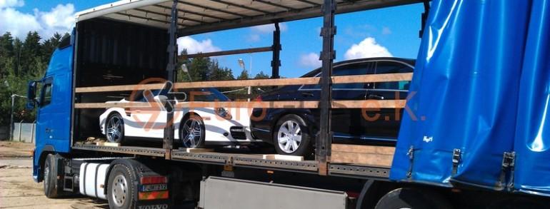 MB S500 & Porsche Carrera