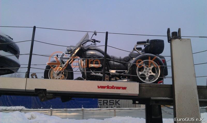 Доставка мотоцикла из Германии