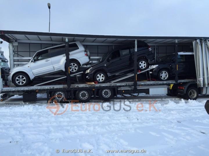 перевозка машин из германии