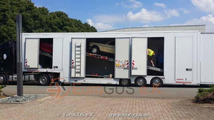 Крытый автовоз из Германии: доставка автомобилей из Европы стандарта VIP