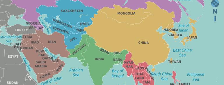 Грузоперевозки из Европы в Азию