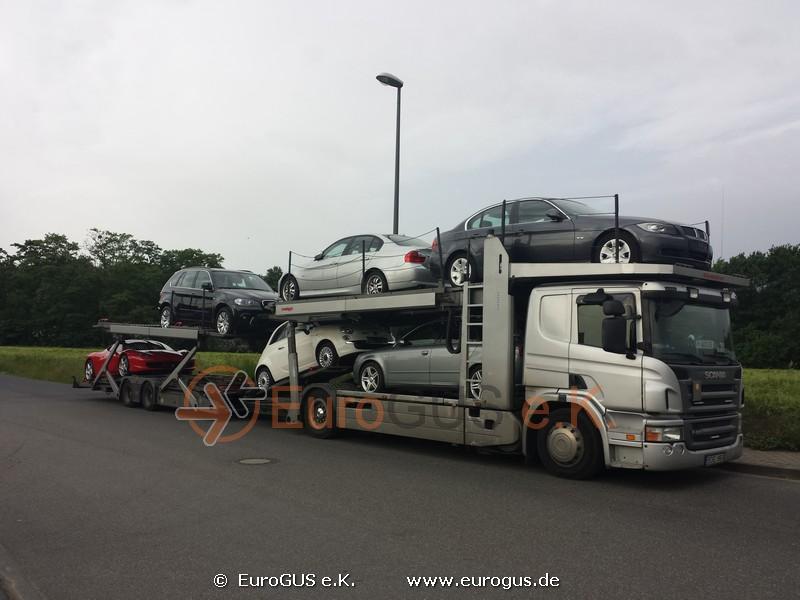 Сбор автомобилей по Германии, еще 2 места загрузки и в Москву