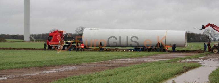 Транспортировка ветрогенератора в Беларусь