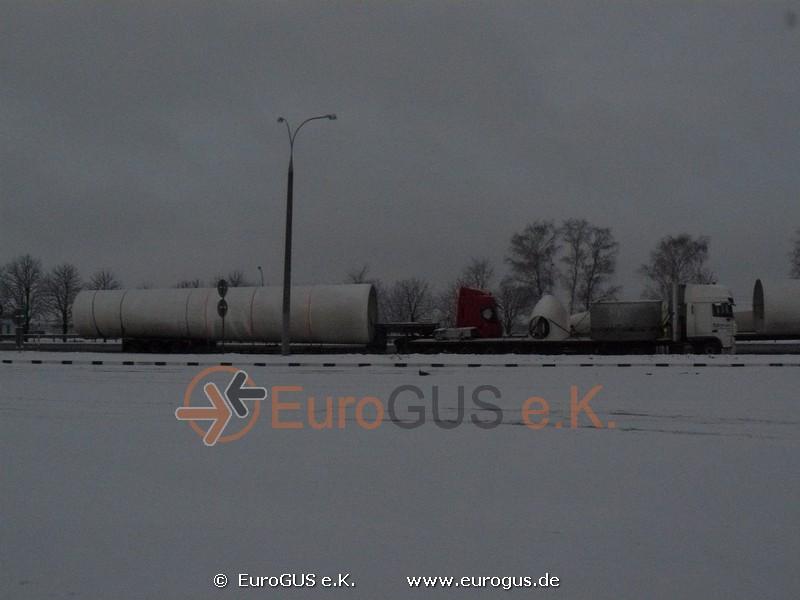 Парковка для грузовых машин и спец транспорта в Республике Беларусь