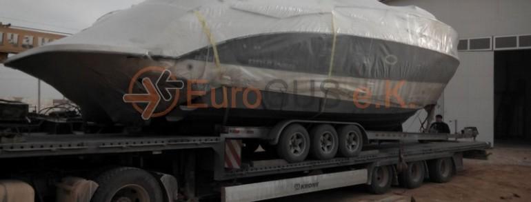 Профессиональная доставка катеров и яхт из Европы