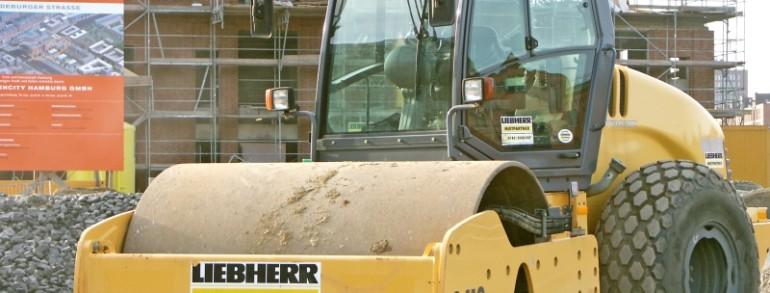 Перевозка строительной техники, асфальтоукладчика, катка