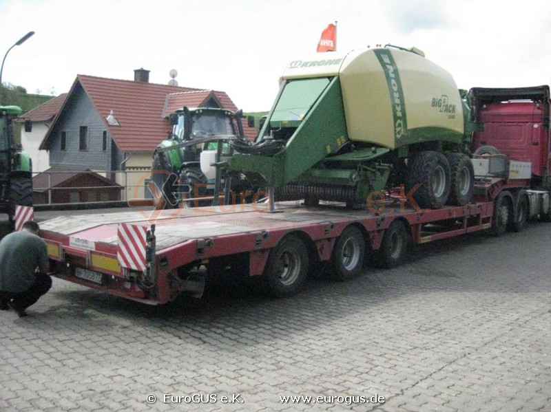 KRONE BigPack 890 XC из германии