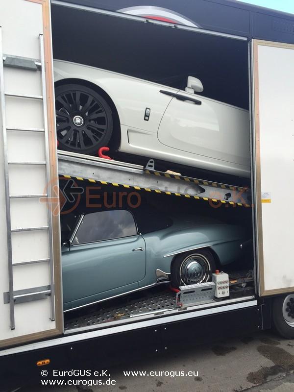 Rolls Royce Wraith - крытый автовоз