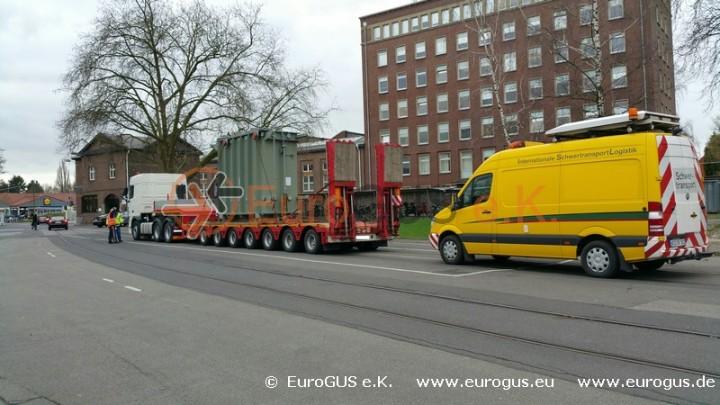 Трансформатор и машина прикрытия негабарит из Германии