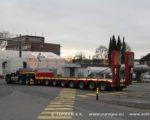 Перевозка тяжеловесных и негабаритных грузов тралами из Германии