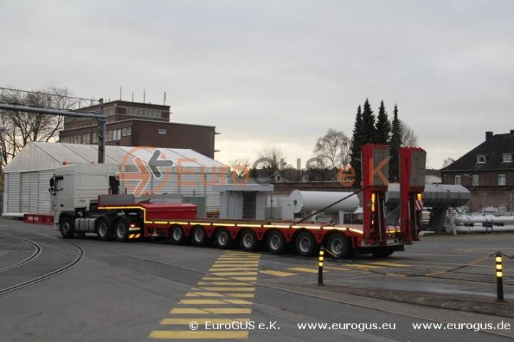 Спецтранспорт Перевозка трансформатора из Германии в Казахстан