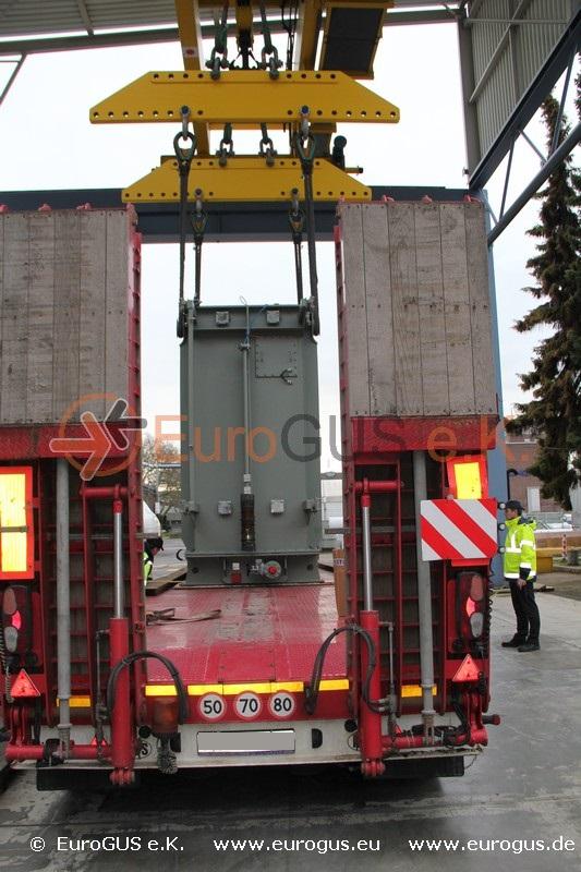 Перевозка трафо 50 то.  из Германии в Казахстан