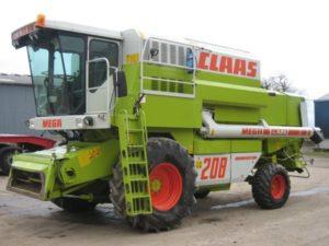 Зерноуборочный комбайн из Германии CLAAS MEGA 208