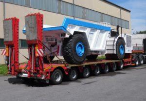 перевозка тяжеловесных и негабаритных грузов из германии