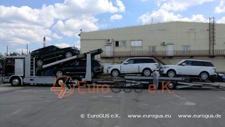 range rover eurogus из москвы новые машины