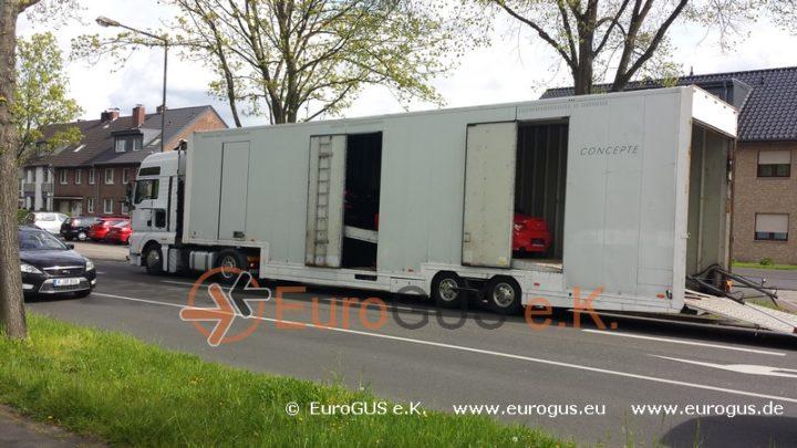 Крытый автовоз, доставка авто из Германии в Москву