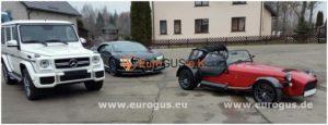 mercedes bugatti caterham из москвы в германию
