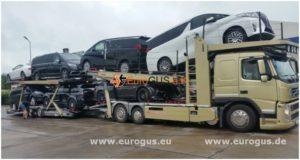 автовоз с машинами eurogus