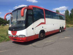 автобус скания перегон из германии в порт антверпен