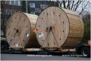 кабель на катушках из германии в казахстан eurogus