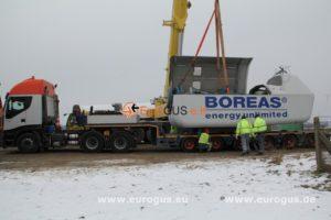 Nordex ветрогенератор из европы eurogus