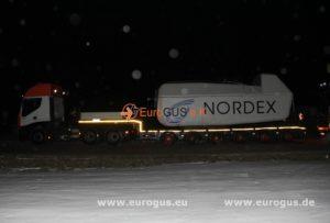 гондола ветряка из германии Нордекс eurogus
