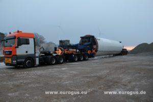спецтранспорт для транспортировки ветрогенератора из германии в модадвию eurogus