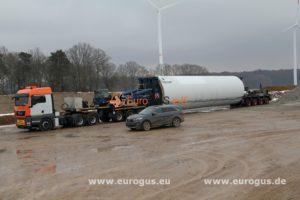 труба ветряка Nordex N62 из Германии в Молдавию eurogus