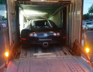 бугатти авто доставка на крытом автовозе eurogus