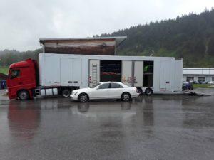 maybach eurogus крытый автовоз в германию, францию, монако, испания