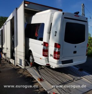 индивидуальная перевозка автомобиля спринтер после полного тюнинга в германии eurogus