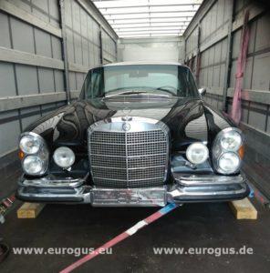 доставка раритетного автомобиля из Германии eurogus