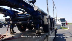 перевозка шасси для силоса из германии в россию, eurogus
