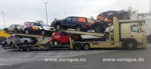 eurogus доставка машин в Туркменистан из Германии на автовозе на гонки