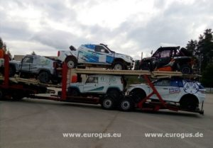 Rally Amul Hazar 2018 доставка машин в Туркменистан