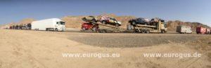 фото авто на автовозе пустыня гонки амул хазар