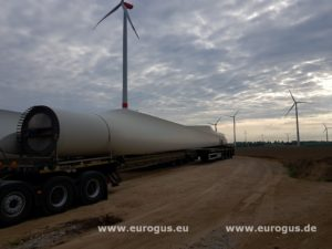 лопасти Доставка ветрогенераторов NegMicon из Германии в Казахстан eurogus