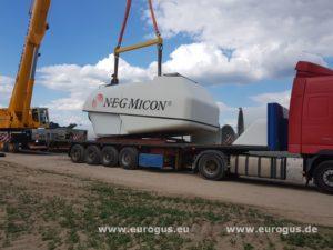 Доставка ветрогенераторов NegMicon из Германии в Казахстан eurogus