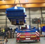 Перевозка промышленного импорта из Германии