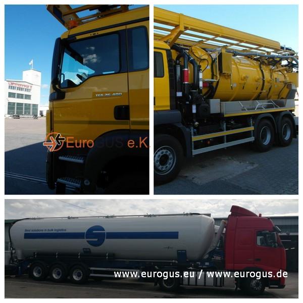 Доставка коммунальных машин по Германии своим ходом eurogus