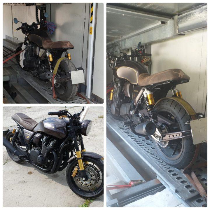 эксклюзивная доставка мотоцикла в крытом автовозе из германии в москву, россия eurogus