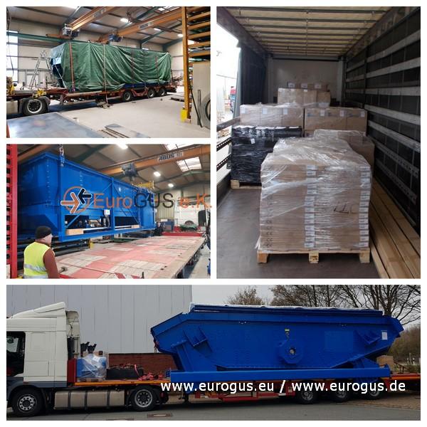 Негабаритный груз из Германии в Россию для завода по мусоропереработки. eurogus