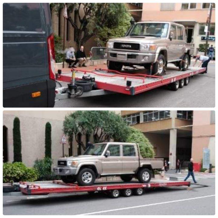 доставка тойота внедорожник из туркменистана в Монако eurogus