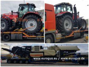 Мультимодальная перевозка негабаритных грузо из Германии в Россию, Казахстан, страны СНГ eurogus
